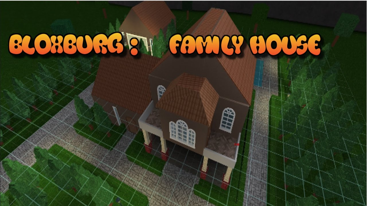 Roblox Bloxburg Family Home Youtube