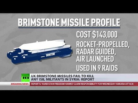 Brimstone missiles haven't killed a single terrorist in Syria