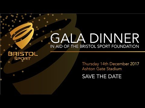 Bristol Sport Foundation to take centre stage at 2017 Gala Dinner