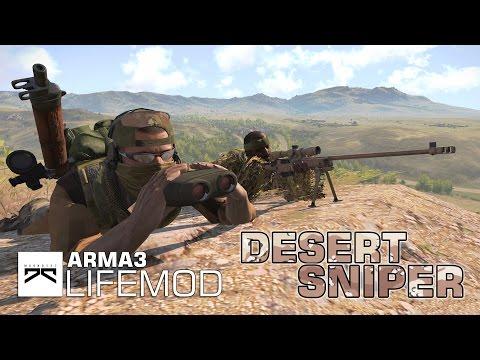 » DESERT SNIPER! « Die Flucht aus der Wüste , realistisches ACE Mod Snipen! [Taki Life Mod]