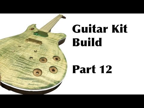 The Guitar Kit Build From Guitar Fetish Part 12 | Cleaning and Taping