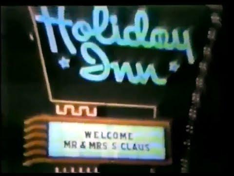 Holiday Inn Christmas Commercial 1970