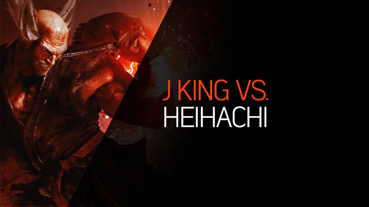 【Tekken 7】 King Gameplay - J King (King) vs. Laugh's & GG's (Heihachi)