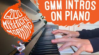 Good Mythical Morning All Intros  | Piano Medley