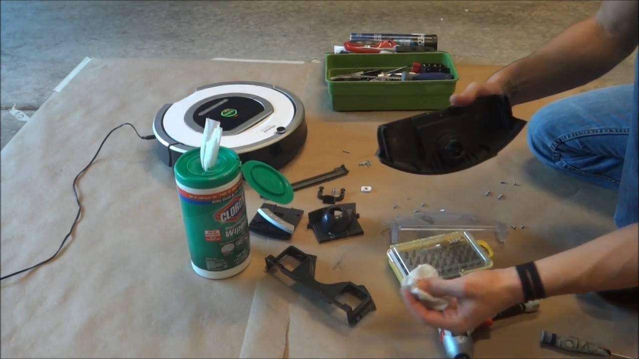 How To Tutorial Irobot Roomba 760 770 780 Full Dust Bin
