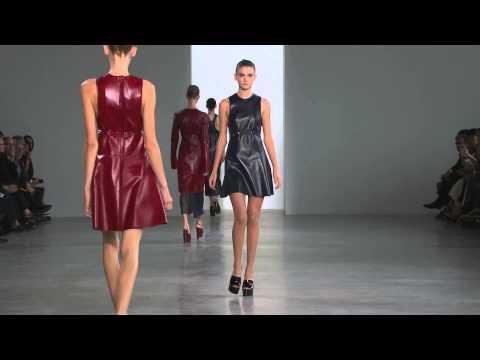 Calvin Klein Collection Women's Spring 2015 Runway Show