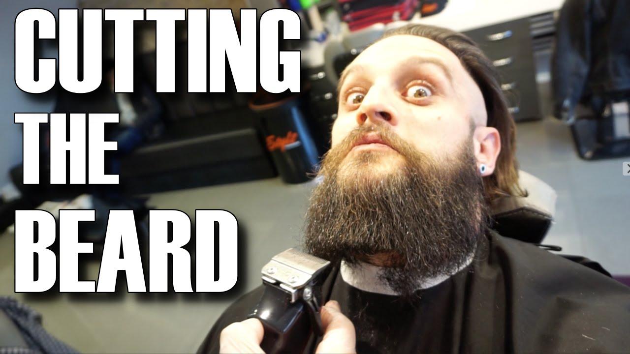 Cutting The Viking Beard Man Bun Hair Styling Top Knot Lex