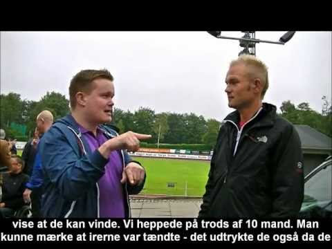 Euro2011: Interview om DK nederlag til Irland