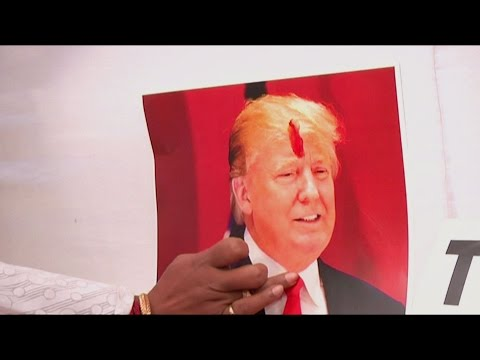 US Presidential Elections: Trump Supporters Pray, Clinton's Dance Before Voting Day