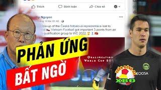 Thủ môn Việt Kiều Filip Nguyễn Phản Ứng Bất Ngờ Sau Trận thắng Indonesia