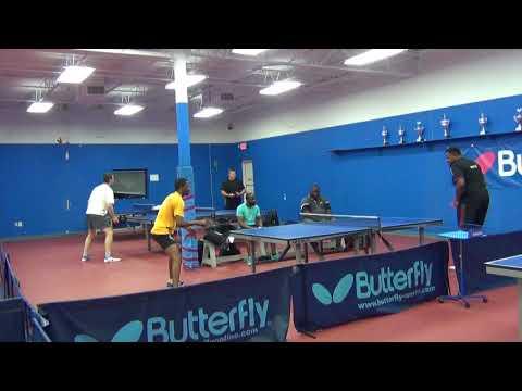 African Diaspora Table Tennis 2018 Adeyinka Ahmed Vs Oluwole Ayangade