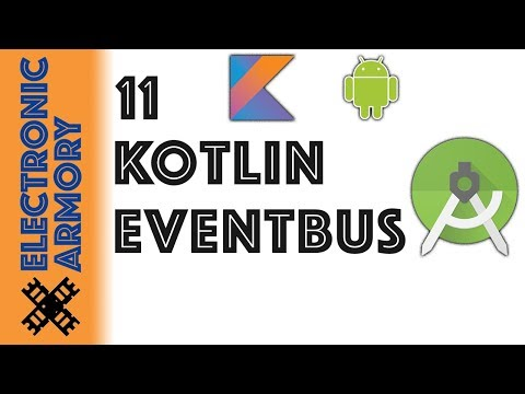 Android EventBus Kotlin - Observer Pattern - YouTube
