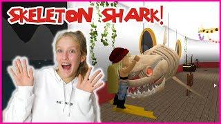 Getting Eaten by the Skeleton Shark!