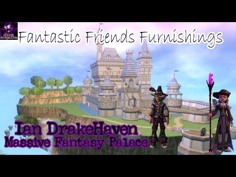 Fantastic Friends Furnishings: Ian DrakeHaven's Massive Fantasy Palace