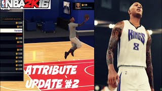NBA 2K16| Attribute update #2 | All signature style moves - Prettyboyfredo