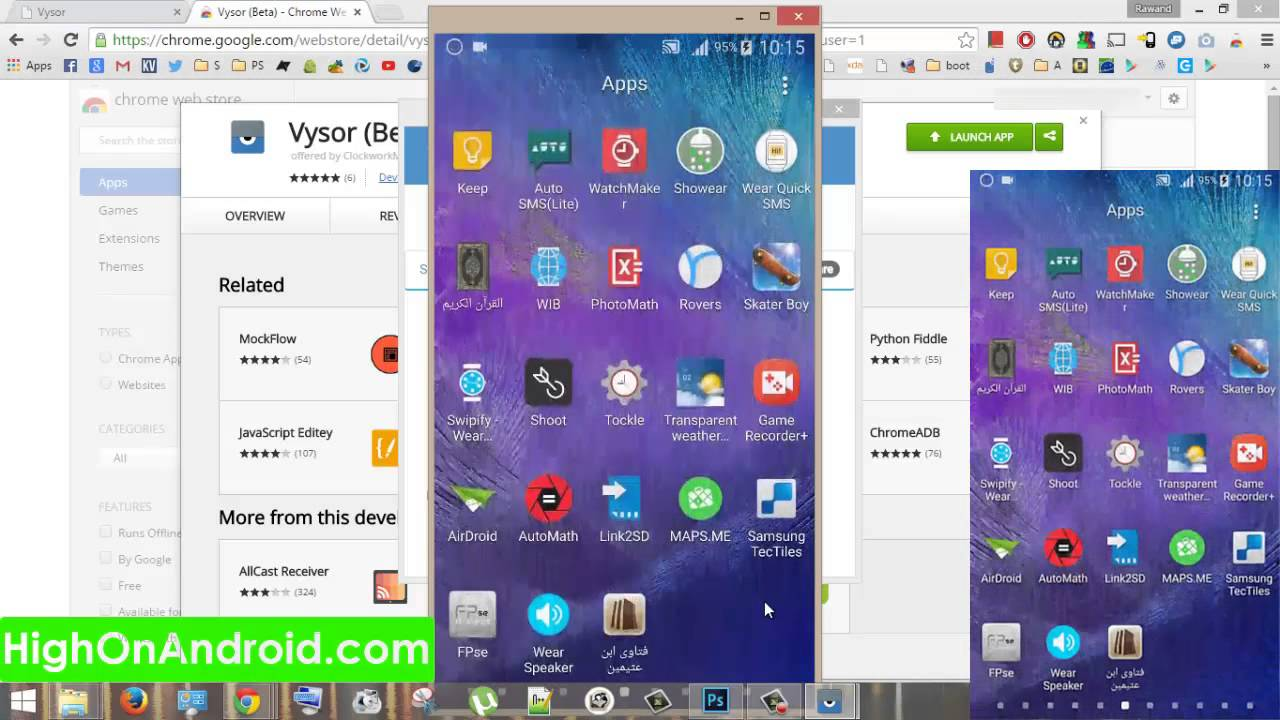 How to Mirror Your Android Screen To PC! [Vysor] | HowTo