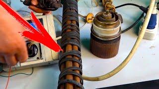Самый мощный и экономичный Обогреватель из трубы и греющего кабеля почти даром