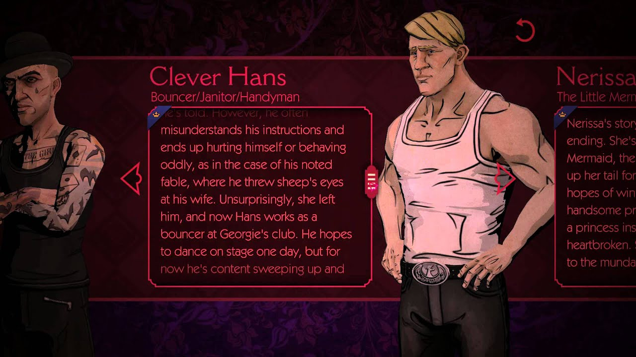 The Wolf Among Us Hans