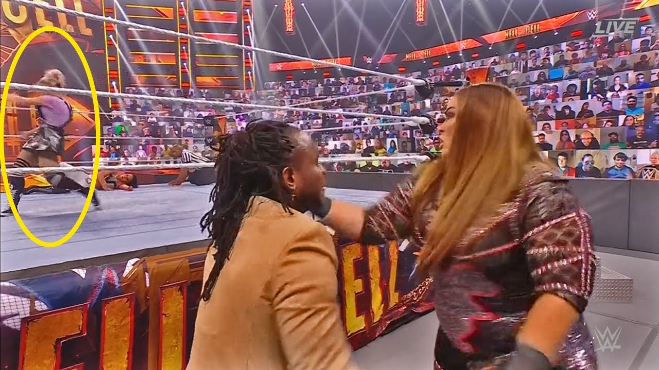 WWE Just Got Incredibly Stupid At Hell In A Cell 2021