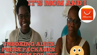 Unboxing aliexpress packages | with special Guest????????