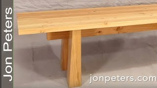 This week I designed and built this bench with a modern design and a Japanese influence. The leg and brace design make this...