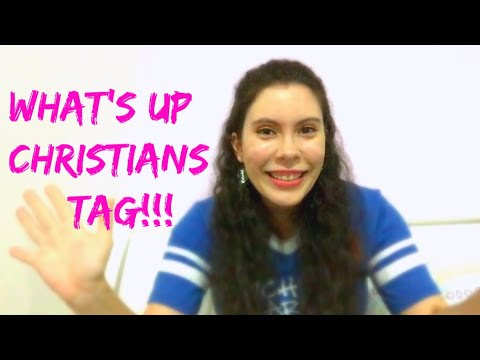 What's Up Christians Tag (Open tag) created by A Catholic Mom's Life