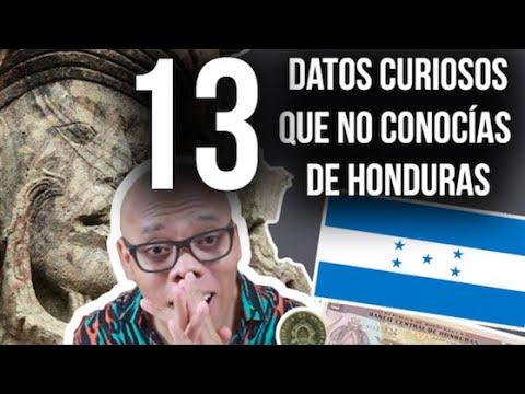 13 CURIOSIDADES que NO sabías DE HONDURAS 🇭🇳