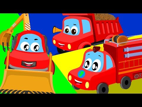 Truck Song | Little Red Car Shows For Toddlers | Cartoon  Video For Children by Kids Channel