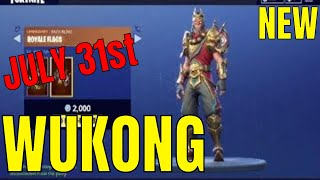 FORTNITE ITEM SHOP WUKONG AND MOISTY MERMAN (31st July) - Fortnite Battle Royale Updated Store