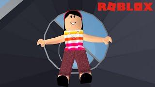 FALLING IN DER HOLE!!! -ROBLOX (FREE FALLING SIMULATOR)