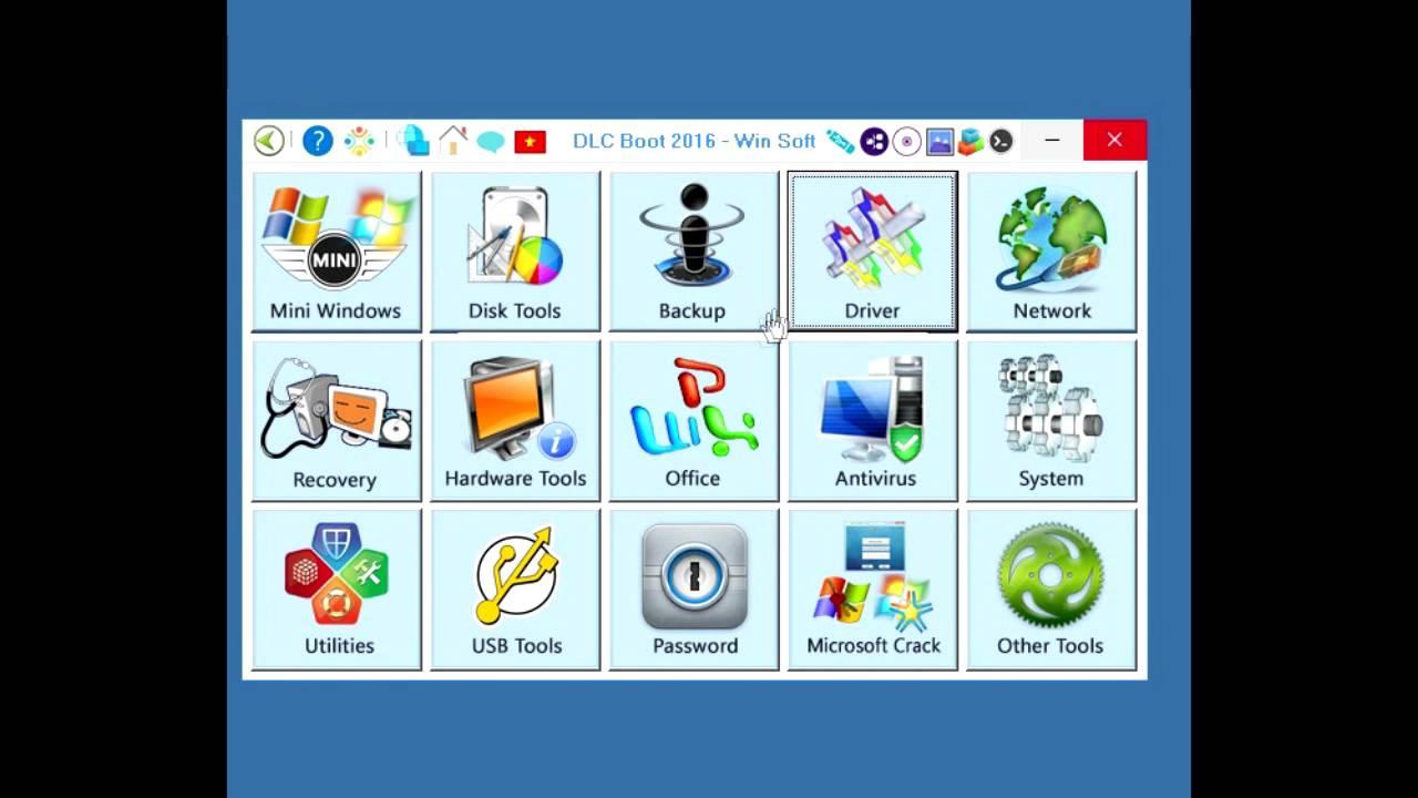 DLC Boot 2016 v3.1 Final + Windows 10 Mini x86