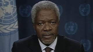 Archive: Kofi Annan's 2003 statement on Iraq