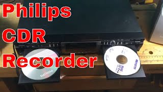 Philips CDR 777/17 CD recorder demo