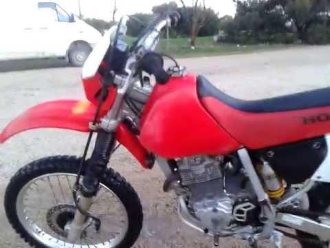 Honda Xr250-Idle