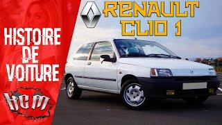 🔧🚗HISTOIRE DE VOITURE - La Renault CLIO 1 (pas assez chère mon fils!)🚗🔧