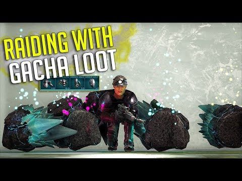 RAIDING WITH GACHA LOOT!! - OFFICIAL SMALL TRIBE EXTINCTION PVP S3 Ep9 | ARK: Survival Evolved