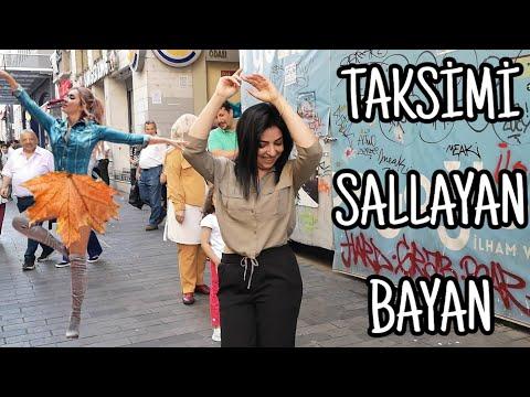 Genç Bayanın Taksimi İnleten Oryantal Dansı. HD