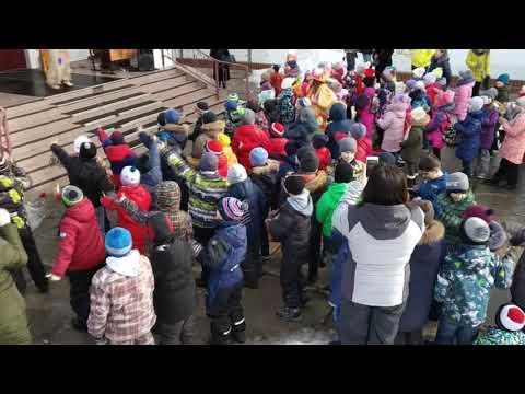 """Широкая Масленица в МБУ """"Школа № 21"""" г.Тольятти"""