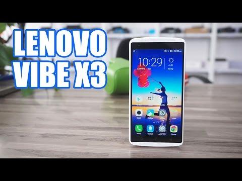 Lenovo Vibe X3 review - El smartphone con mejor sonido del mercado