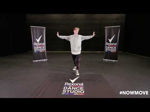 """Crazy Stupid Silly Love"" #NOWMOVE Dance Tutorial - Josh With #RexonaDanceStudio"