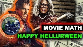 Box Office for Doctor Strange overseas Opening Weekend, A Madea Halloween vs Inferno