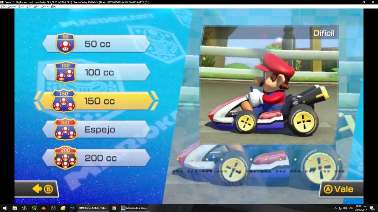 Mario kart 8 cemu update