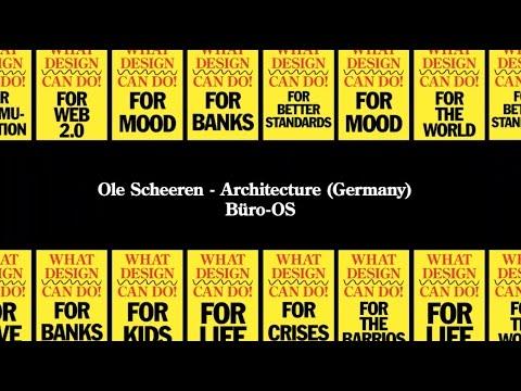 Ole Scheeren - What Design Can Do 2015