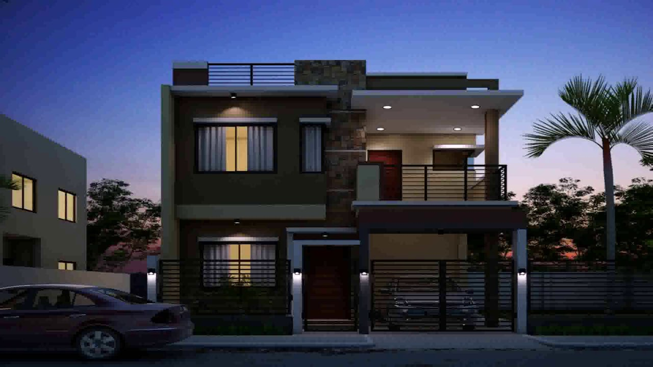 Front House Design With Bricks Philippines Youtube