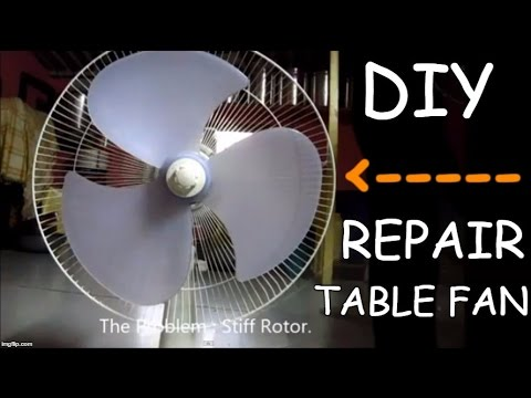 Diy repair your table fan youtube diy repair your table fan greentooth