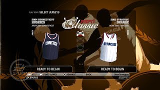 NCAA Basketball 09 (Classic Teams With Player Names) 04 Connecticut vs 03 Syracuse