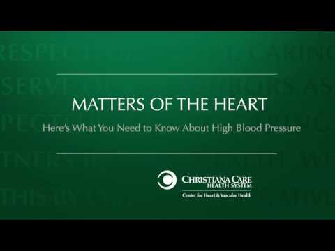 Matters of the Heart: High Blood Pressure