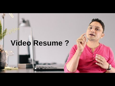 Best Video Resume For Software Engineer | BE | Btech | Template