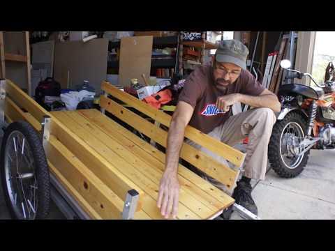 WIKE DIY Cargo Trailer Deck Assembly