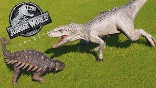 Jurassic World Evolution #26 Indominus Gehege & Indoraptor VS. Giganotosaurus! [60FPS/HD] | Marcel